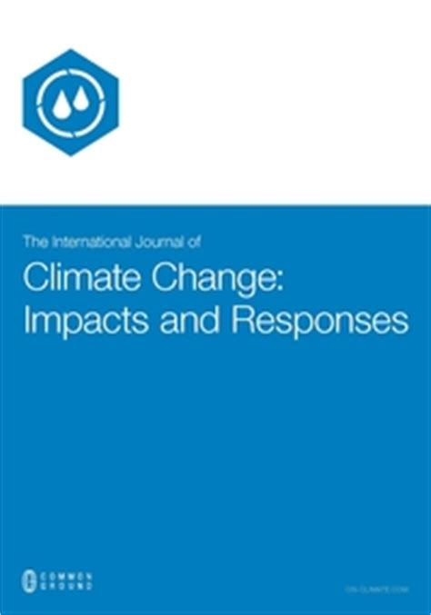 Title of the Research Climate Change and Ocean